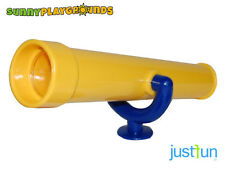PLASTIC TELESCOPE YELLOW Swing Seat Set Accessory Playground  Toy Outdoor