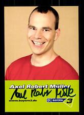 Axel Robert Müller Autogrammkarte Original Signiert # BC 76803
