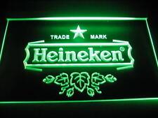 Heineken luce LED Segno Di Luce Targa luminosa pubblicità Segno neon NUOVO