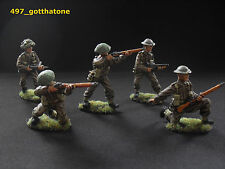 Airfix/CTS/Weston toy soldiers TSSD  1/32 painted British infantry. pro painted.