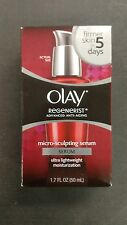 Olay Regenerist Advanced Anti-Aging Micro-Sculpting Facial Serum 1.7 FL OZ