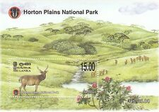 (44815) Sri Lanka MNH Horton Plains National Park Minisheet