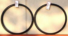 "(2) Two x Kenda K35 BLACK Wall 27 x 1-1/4"" Road Bicycle Tires Wire Bead Fixie"