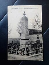 Cpa loire 42 boutheon monument des combattants gay edit