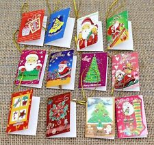 20pcs Christmas cards Hanging Decorations For Christmas Trees Decoration New