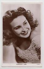 POSTCARD - Picturegoer #1211a Rosemary Lane, movie film cinema actress, RP