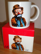 "Emmett Kelly Circus Collection ""I DON'T GET NO RESPECT"" Clown MUG w/Box 1986"