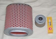 Service Kit:- Plug Air & Oil Filter to fit HONDA XBR GB GB400   GB500 &  XBR500