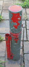 Vintage H. L. Piper Canadian Railroad Flagman Flare/Schedule Case
