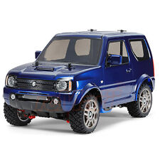 Tamiya 1:10 MF-01X Suzuki Jimny JB23 Metal Blue Printed Body EP Car Kit #58621