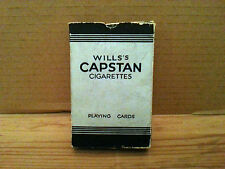 Vintage Playing Cards - Wills Capstan Cigarettes