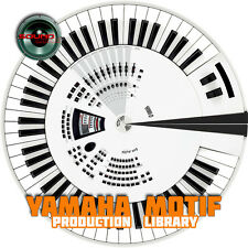 YAMAHA MOTIF THE very Best of - 4.3GB Original 24bit WAVE Samples Library on DVD