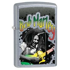 Zippo 29307 Bob Marley Street Chrome Finish Full Size Lighter