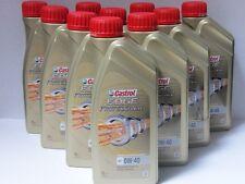 8,78 €/L CASTROL EDGE prof titane FST a3 0w-40 10 x 1 L BMW ll01 MB 229.5