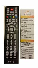 UNIVERSAL REMOTE CONTROL TV UCT - 039 LINBOX APOLLO BLOW DIGIB OPTICUM SKYSAT
