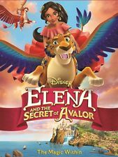 Elena and the Secret of Avalor (DVD, 2017) Anime* Adventure* NOW SHIPPING !!