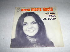 ANNE-MARIE DAVID 45 TOURS FRANCE AIMER