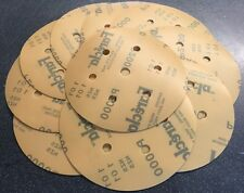 "45xFarecla Film abrasive discs GRIP 150mm 6"" Pack15xP1200 15xP1500 15xP2000"