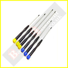 6pc Long Reach Precision Screwdriver Set Magnetic Tip Phillips & Slotted NEW