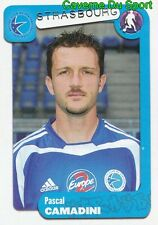 372 PASCAL CAMADINI FRANCE RC.STRASBOURG FC.SION STICKER FOOT 2005 PANINI