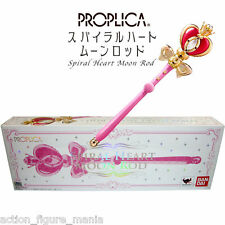 BANDAI SAILOR MOON SPIRAL HEART MOON ROD PROPLICA COSPLAY