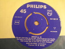 45T SINGLE PHILIPS / MORTIER-ORGEL UIT BRESKENS - MEDLEY N° 24
