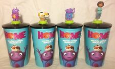 Dreamworks Home Movie Theater Exclusive Cup Topper Set with 44 oz Cups NEW