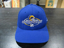 VINTAGE St Louis Rams 1999 NFC Champions Snap Back Hat Cap Football Blue NFL 90s