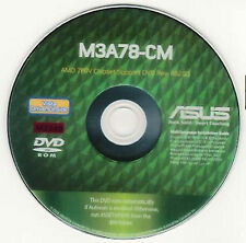 ASUS M3A78-CM Motherboard Drivers Installation Disk M2240