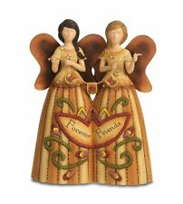 "COUNTRY SOUL 29051 FOREVER FRIENDS DOUBLE ANGEL FIGURINE 15CM / 6"" BNIB"