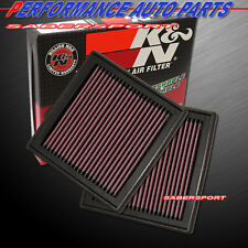 """IN STOCK"" TWO K&N 33-2399 AIR INTAKE FILTERS for 07-15 G35 G37 350Z 370Z QX50"