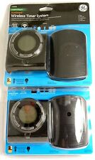 Lot of (2) GE 26683 Wireless control Outdoor Digital Timer Outlets for lighting