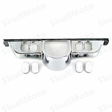 Chrome Switch Panel Accent Cover For Harley Electra Glides FLHT FLHX CVO 96-13