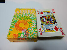 Sikkens wood treatments promo advertising playing cards