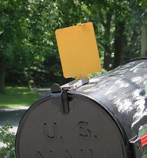 Mail Time!® Mail Box Signal Flag Alert Great for Long Driveways USA made.