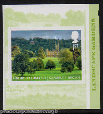 GB QEII MNH Booklet Stamp 2016 CAPABILITY BROWN HIGHCLERE CASTLE S/A 10% OFF 5+