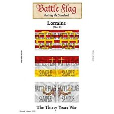 Battle Flag - Duchy of Lorraine Plate II (Thirty Years War) - 28mm