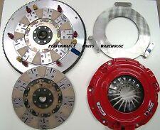 McLEOD RXT 1200-HP TWIN DISC CLUTCH & 8-BOLT STEEL FLY - LSX 376 454 LSA SWAP