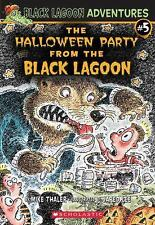 The Halloween Party From The Black Lagoon Paperback Book, New!