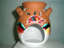 Native American  Lakota Sioux Original Art, Turtles, Candle Warmer, Signed/Dated