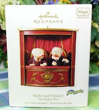 Hallmark Statler and Waldorf ornament Magic Muppet 2008