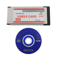 NEW Express Card ExpressCard 34mm to 5Gbps Dual 2 Ports USB 3.0 Card BC628