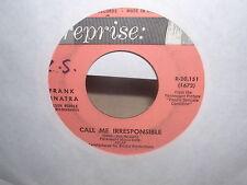 Frank Sinatra Call Me Irresponsible & Tina  Reprise