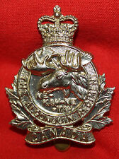 ALGONQUIN REGIMENT of Canada Cap Badge  QC