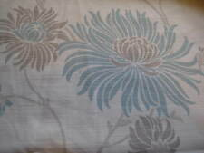 NEW LAURA ASHLEY KIMONO DUCK EGG BLUE FLORAL FABRIC MATERIAL (Per Metre)