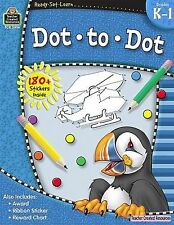 Ready-Set-Learn: Dot to Dot Grd K-1, Teacher Created Resources Staff, Good Book