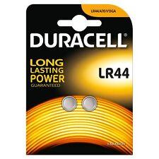 6 x DURACELL LR44 1,5 V PILE ALCALINE LR 44 A76 AG13 357 scadenza 2019