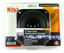 """AUDIO  BOSS BRS40 BRS Series Dual-Cone Replacement Speaker (4""""),50 Watts"""
