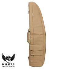 Tan Tactical Air Gun Bag /Desert Airsoft Rifle Carry Case / Shotgun Slip, gunbag