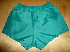 (nuevo) no name vintage brillo nylon running short, Sprinter, pantalones de deporte, talla 32/34